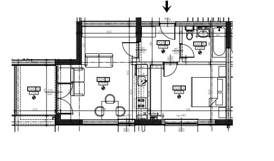 apartament 2 camere 42mp + 6mp balcon - Zev Apartments