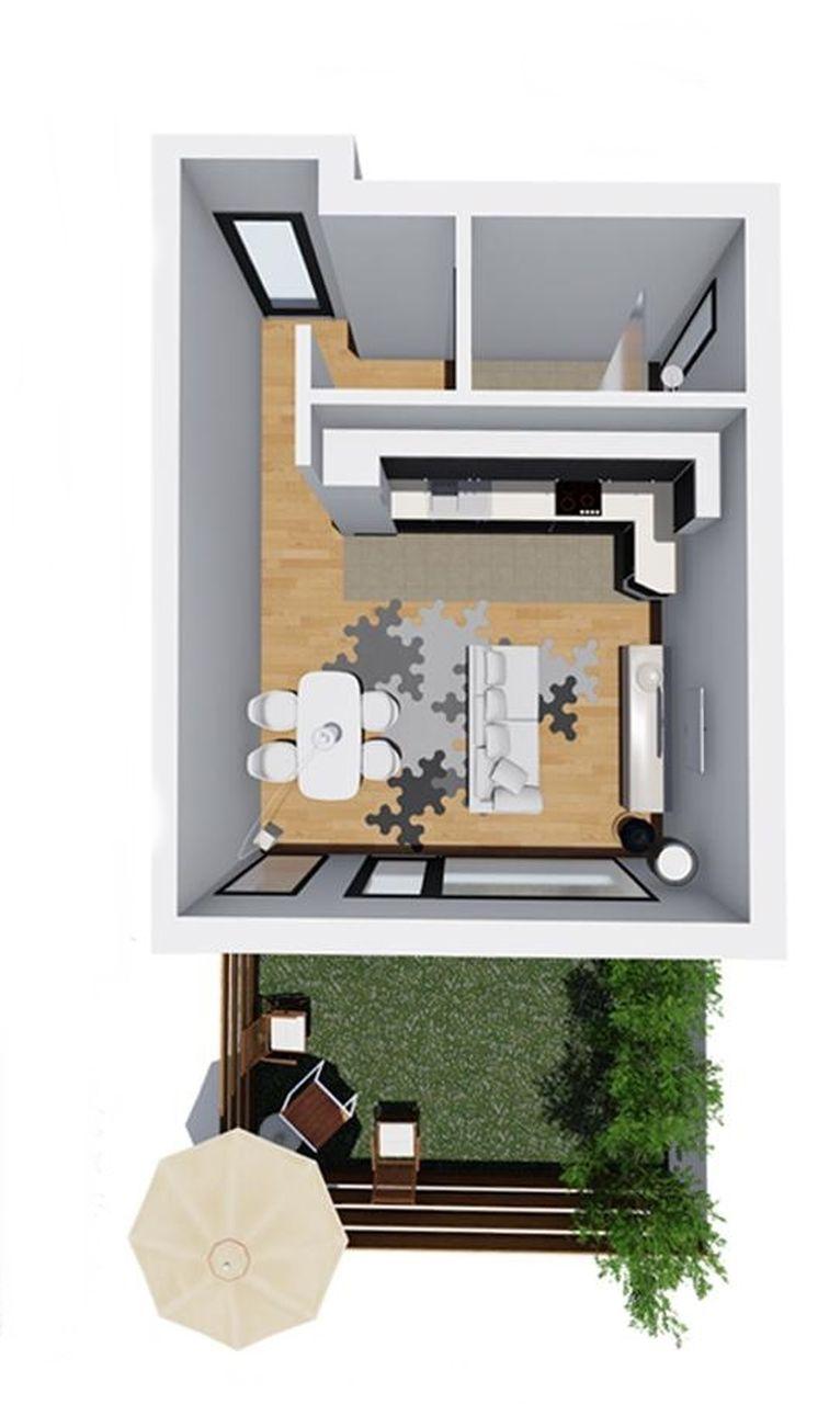 Apartament 1 - garsoniera tip 1 - Win Project Residence