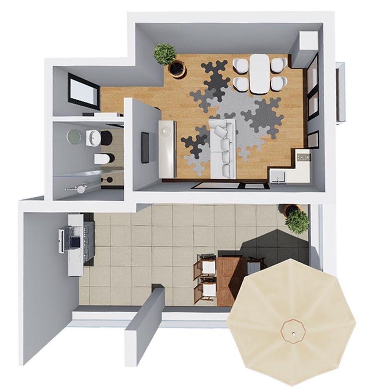 apt 11 - garsoniera tip 5 - Win Project Residence
