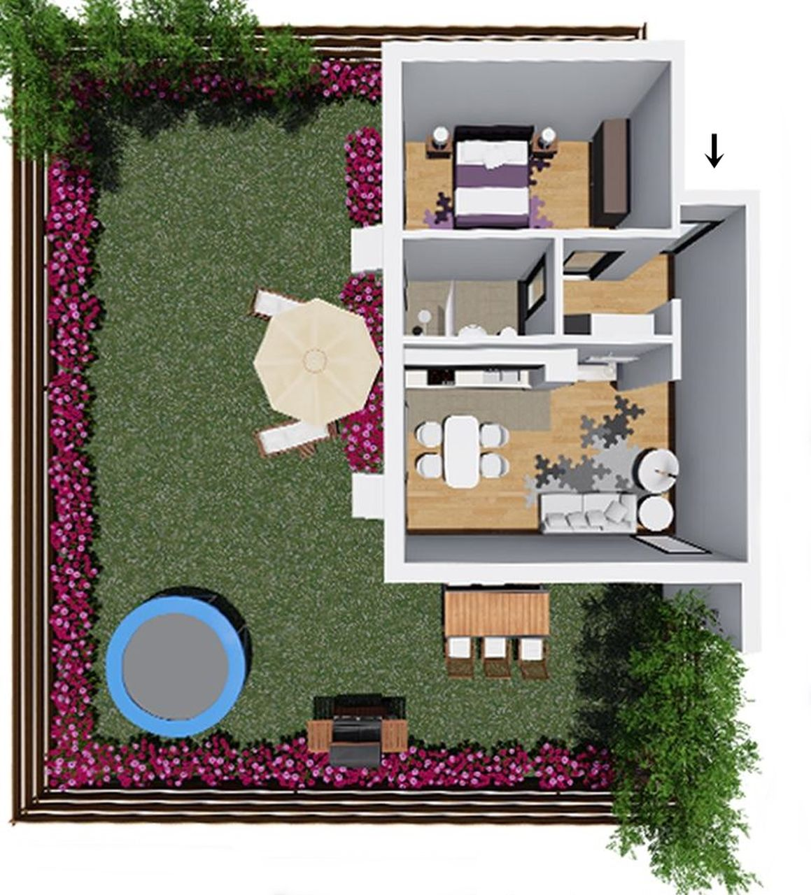 Apartament 3 - apartament tip 1 - Win Project Residence