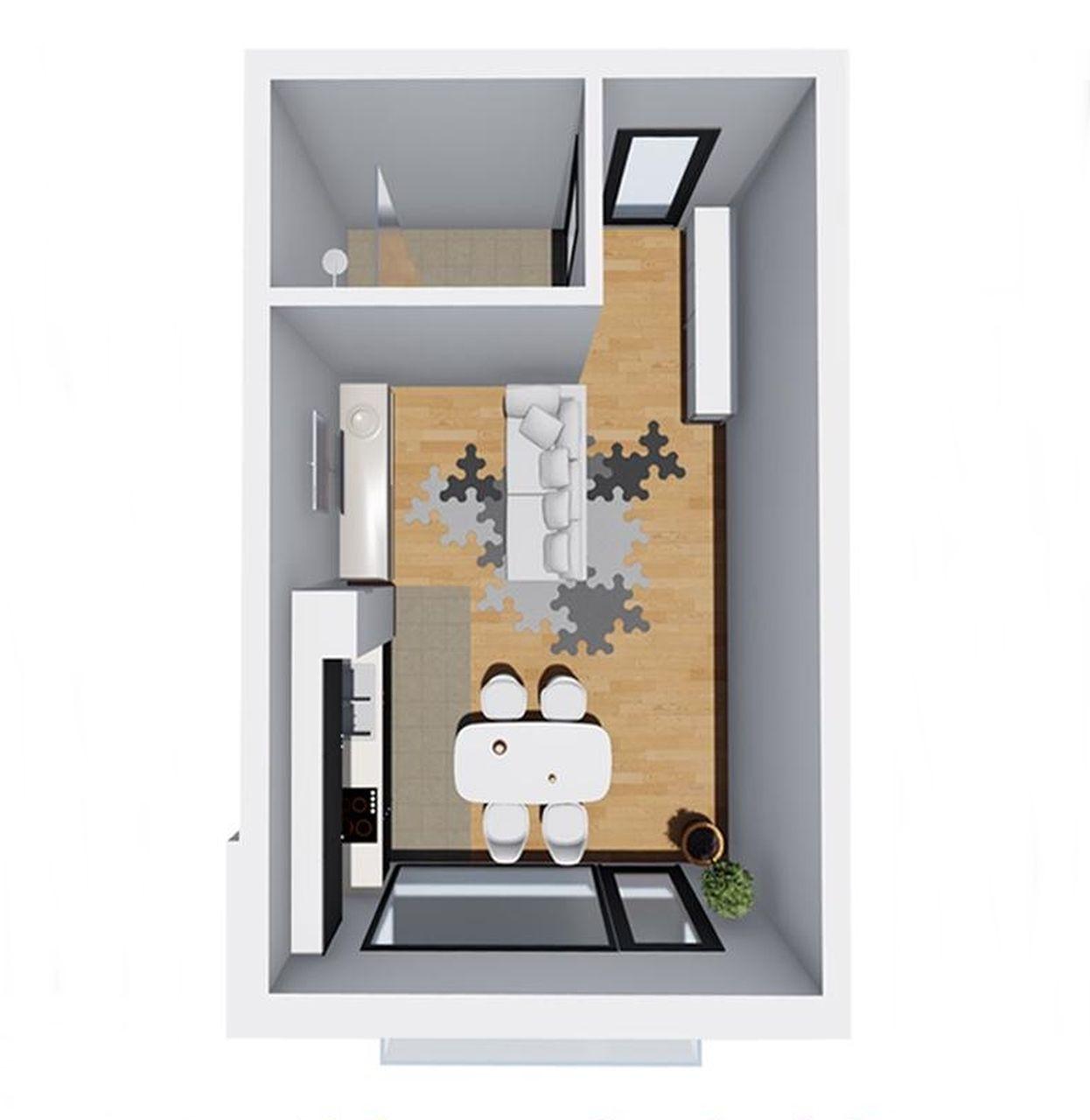 Apartament 8 - garsoniera tip 3 - Win Project Residence