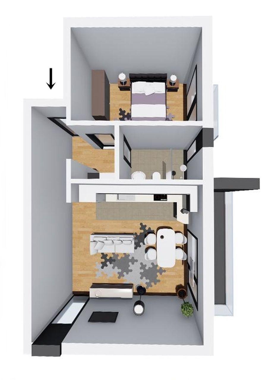 Apartament 9 - apartament tip 3 - Win Project Residence