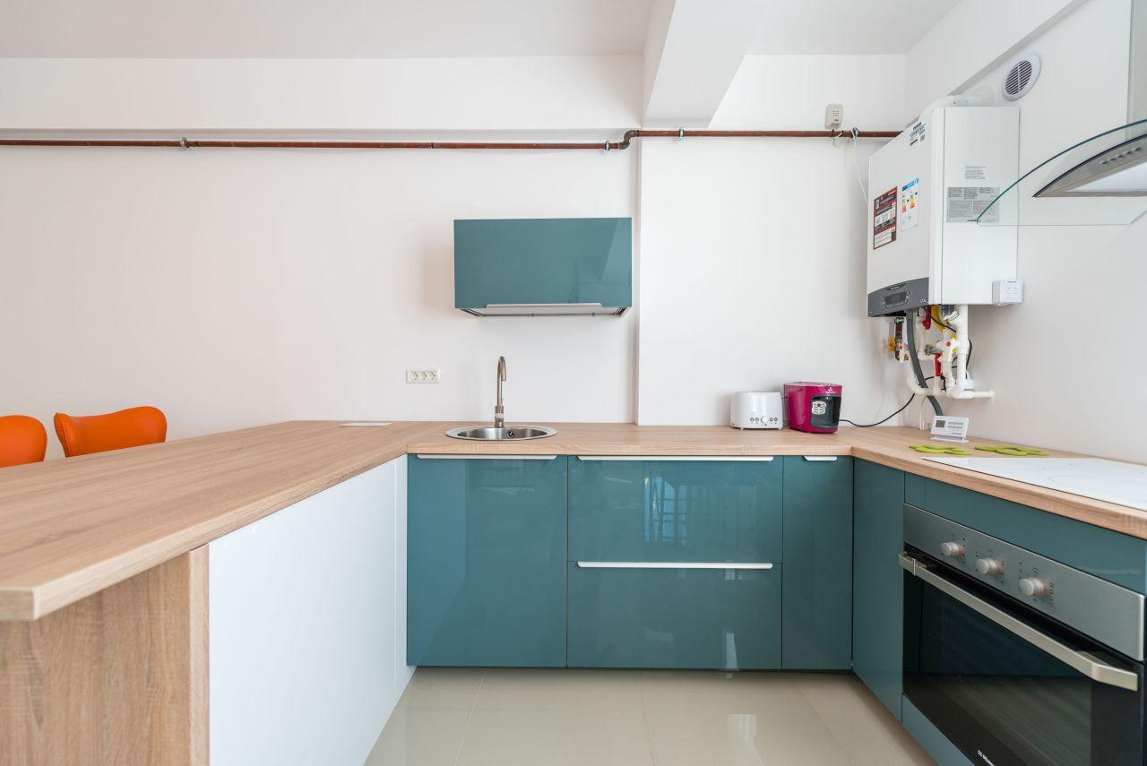 Apartament premium cu terasa si vedere la mare in complex rezidential 002