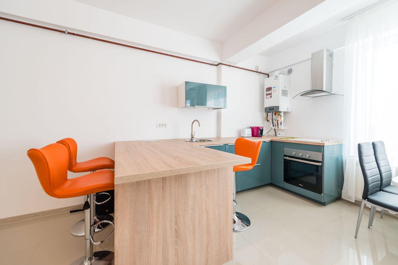 Apartament premium cu terasa si vedere la mare in complex rezidential 009