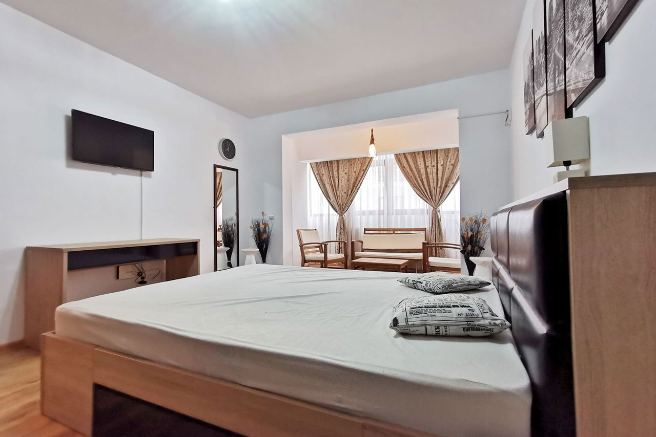 Apartament cu 2 dormitoare lângă plajă în Mamaia