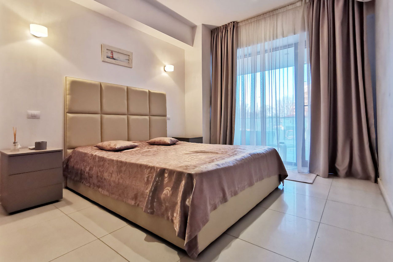 Tudors Residence | Apartament superb cu 2 camere și 2 băi | Mamaia Ultracentral