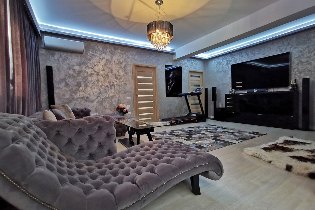 Apartament finisat, mobilat și utilat super premium