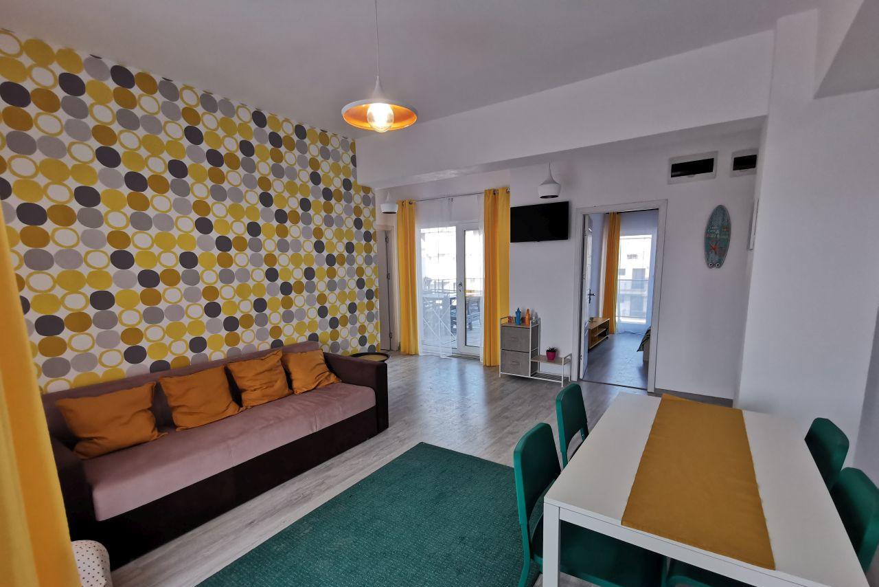 Apartament cu 3 camere, cu terasă generoasă și vedere bilaterală