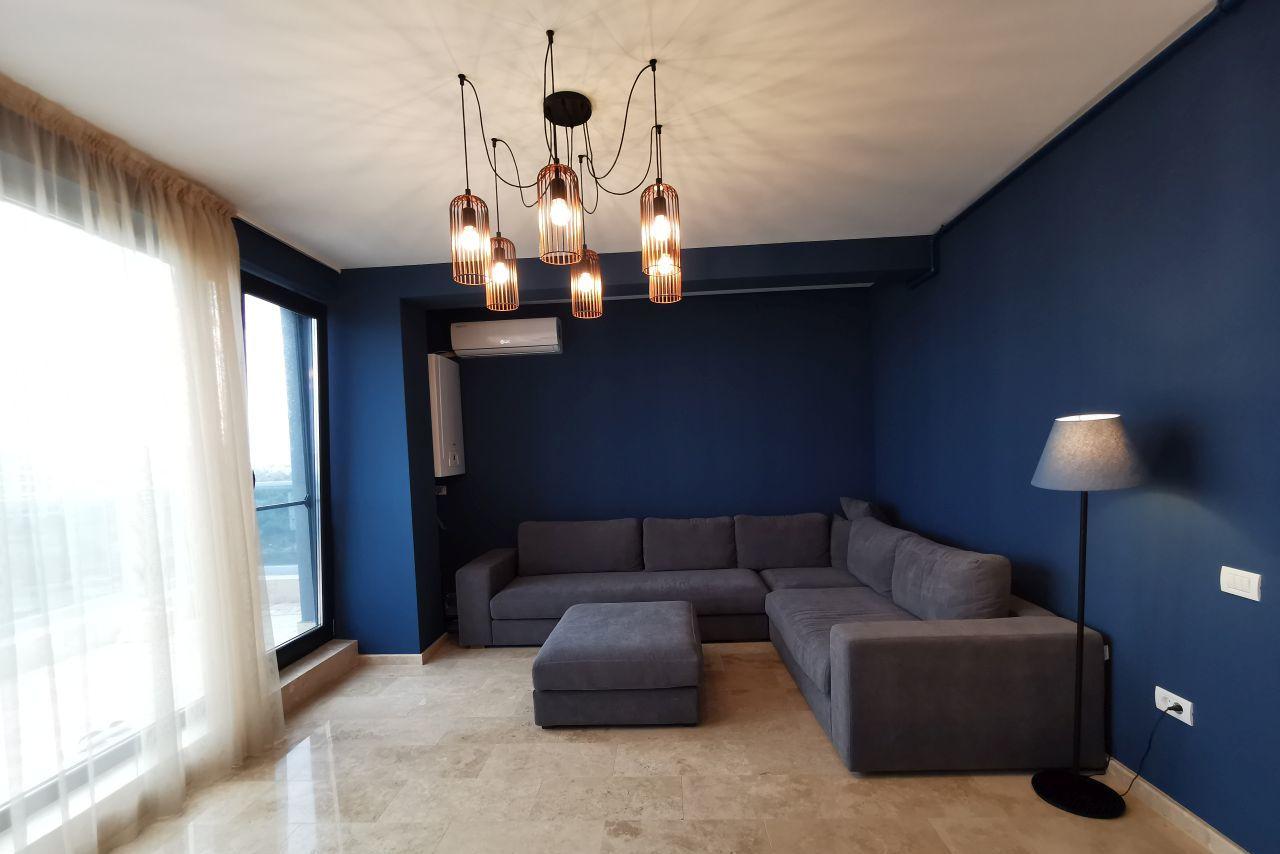 Apartament mobilat și finisat premium în Mamaia