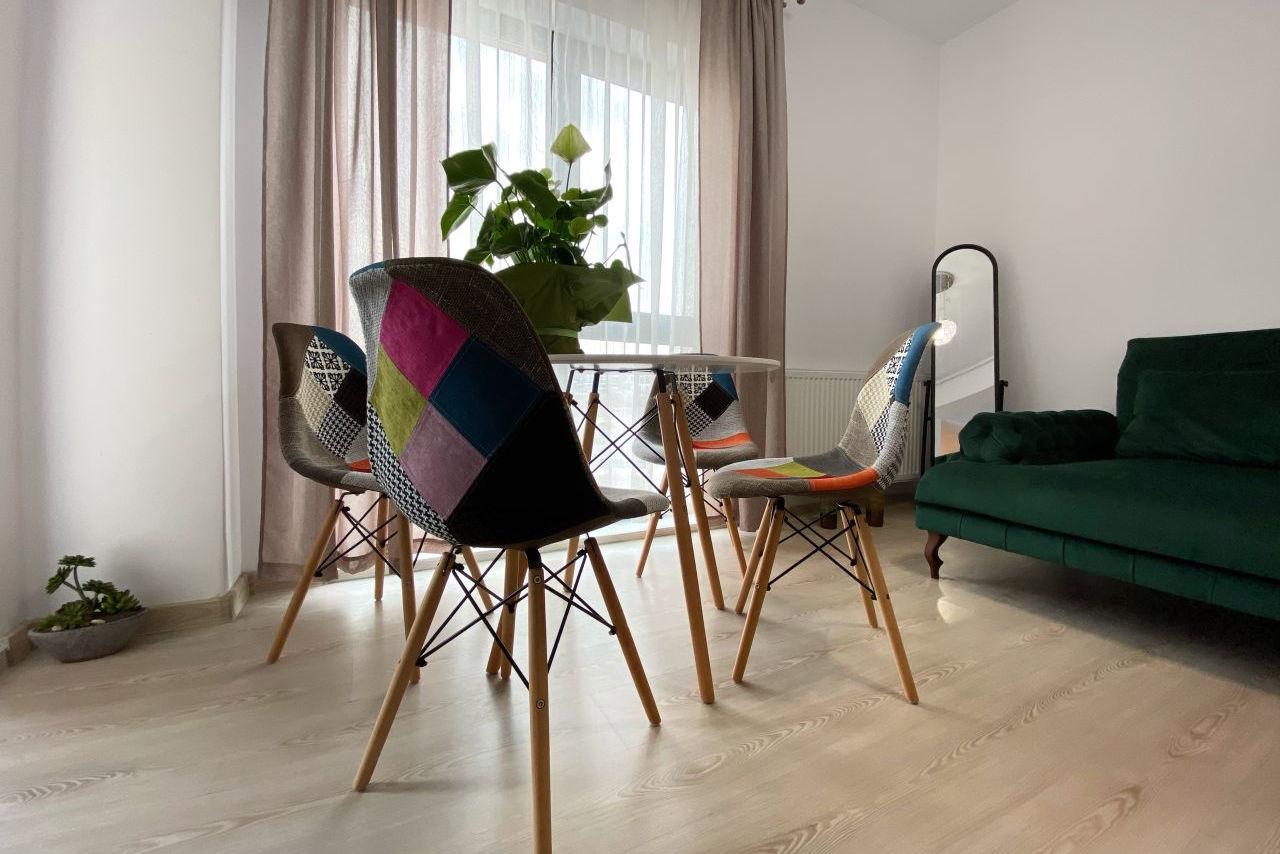 Apartament 2 camere mobilat și utilat premium