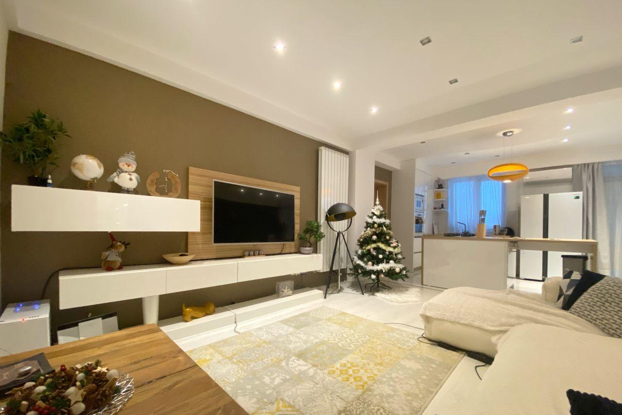 Apartament cu 3 camere mobilat și utilat | parcare privată
