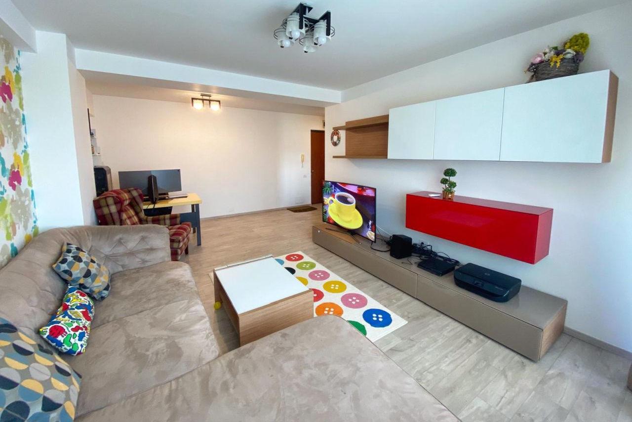 Apartament cu 2 camere în Cartierul Tomis Plus, complet mobilat și utilat