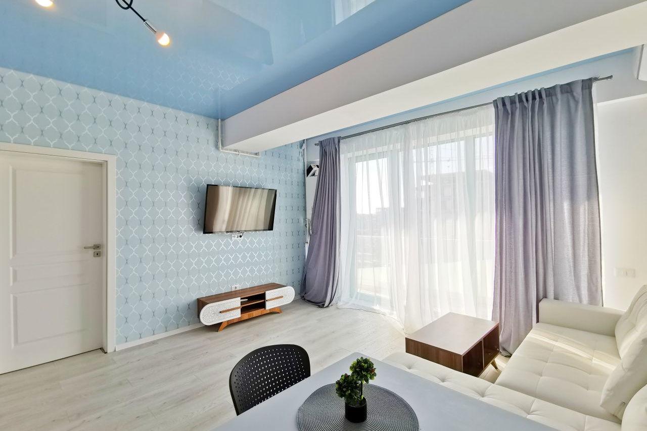 Apartament cochet cu 2 camere în primul rând la promenadă