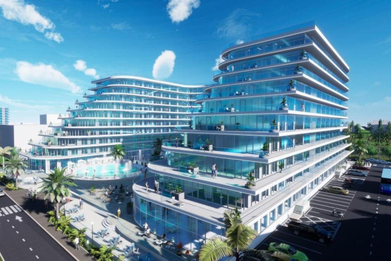 Apartament cu 3 camere și priveliște frontala către mare, în White Titanic Residence